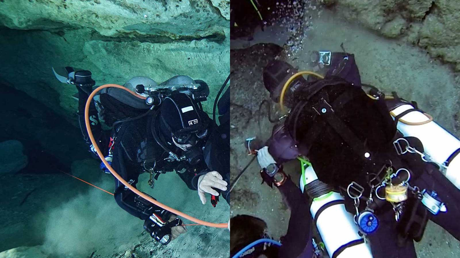 Backmount Vs. Sidemount For Cave Diving
